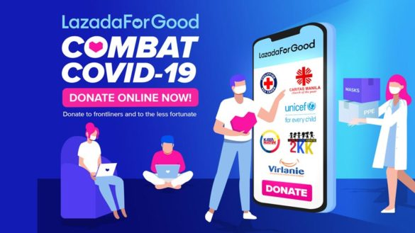 Lazada Stands with the Philippines to Combat COVID-19