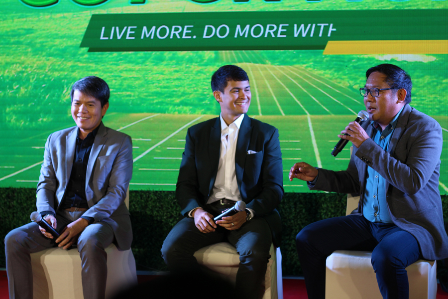 Matteo Guidicelli, Kuya Kim Atienza, Go for More With Santé