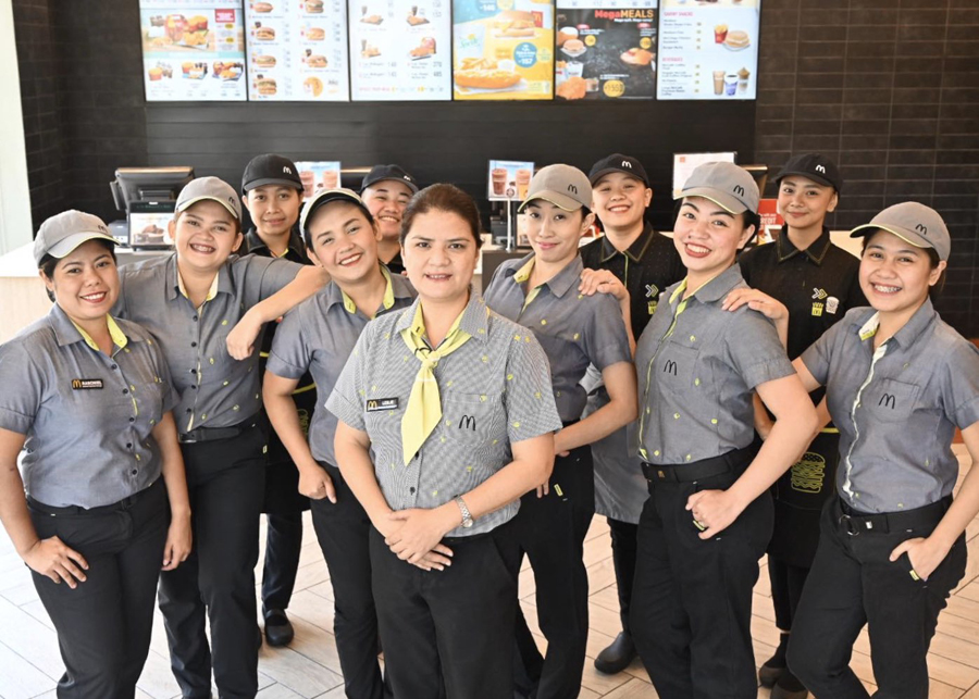 All-Women Teams Run McDonald's Stores in the Philippines for  International Women Day