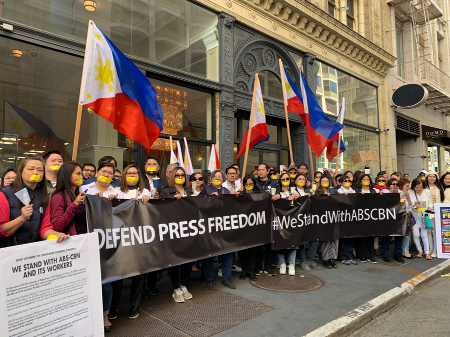 Fil-Am Activists Rally Nationwide to Show Support for ABS-CBN Amid Shutdown Threats