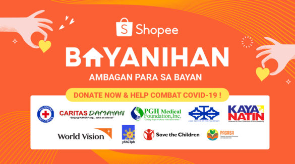 Shopee Launches Shopee Bayanihan, an Initiative Focused on Providing Support for Medical Front Liners and Filipinos in Need