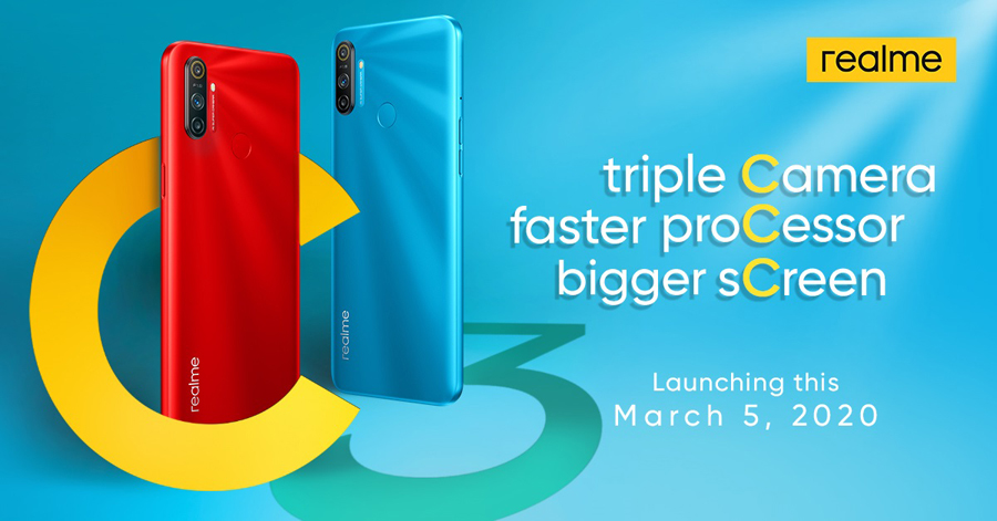 realme Philippines to Debut Triple-Camera Gaming Monster Realme C3 on March 5