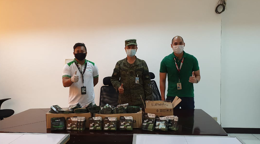 Comms Support for AFP, PGH Frontliners From Smart