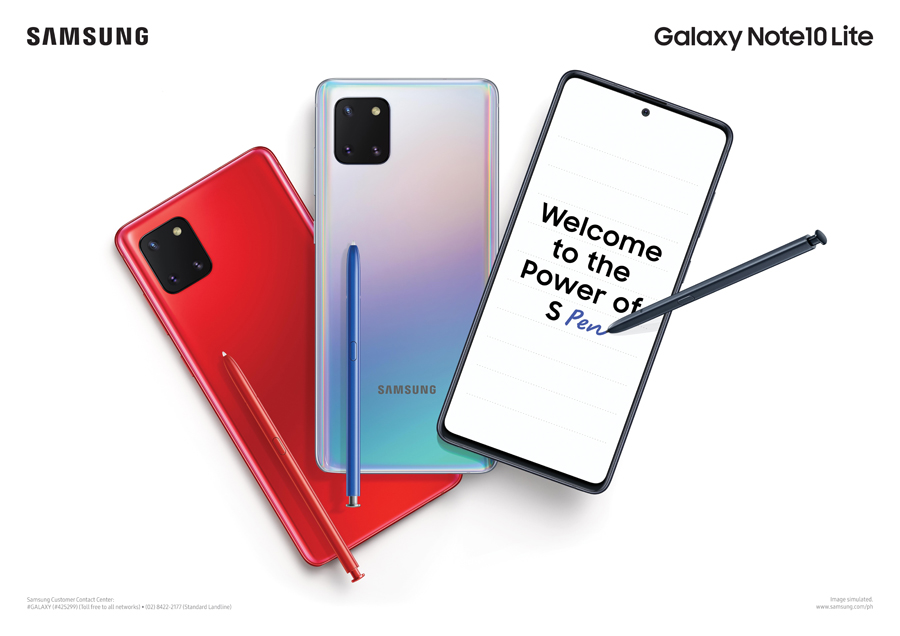 SAMSUNG Galaxy Note10 Lite Offers Premium Features for This Generation's Go-Getters