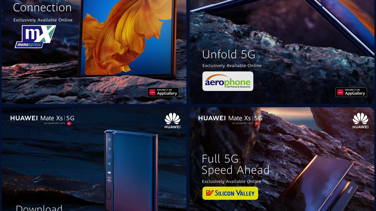 HUAWEI Mate Xs, the Unprecedented Foldable Phone is Now Available in the Philippines