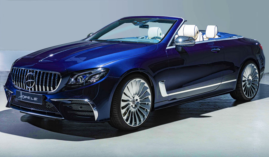 Stunning Bespoke version of the Mercedes-Benz E53 AMG Cabriolet by HOFELE