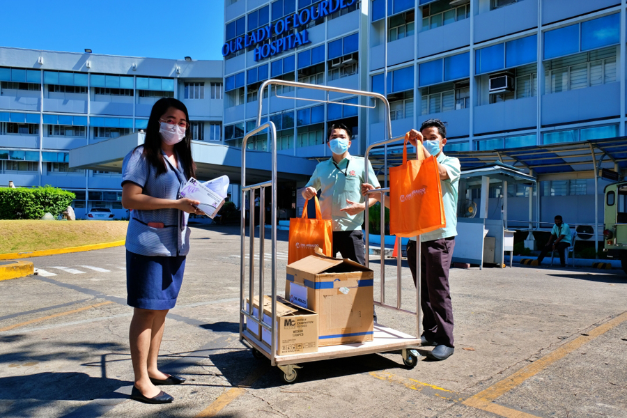 One Meralco Foundation Provides Aid to Homeless, PPEs for Frontliners Amid COVID-19 Crisis