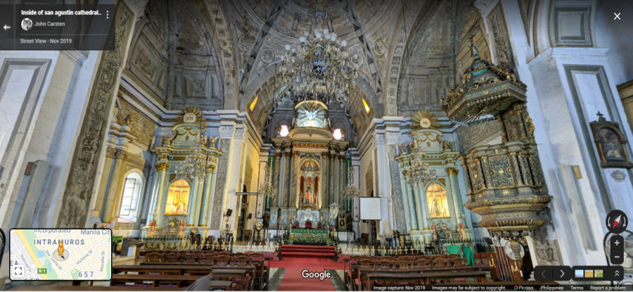 A Virtual Tour of Local Churches This Holy Week on Street View