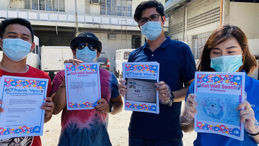 Vivo Donates Surgical Masks, Letters of Appreciation to Hospitals, Front Liners