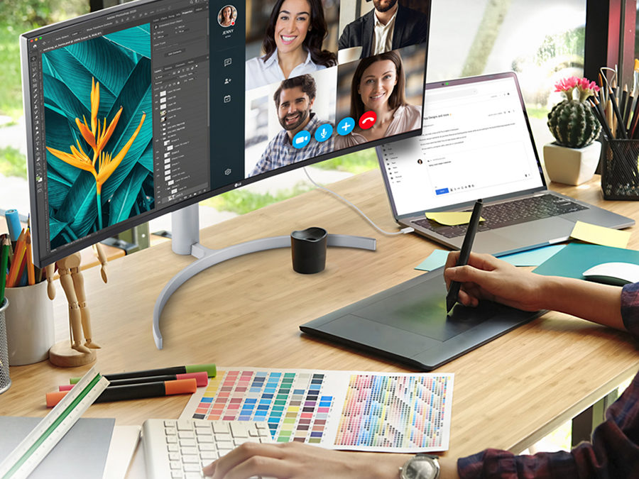 LG's Ultrawide Monitor Provides The Perfect Balance of Work and Play