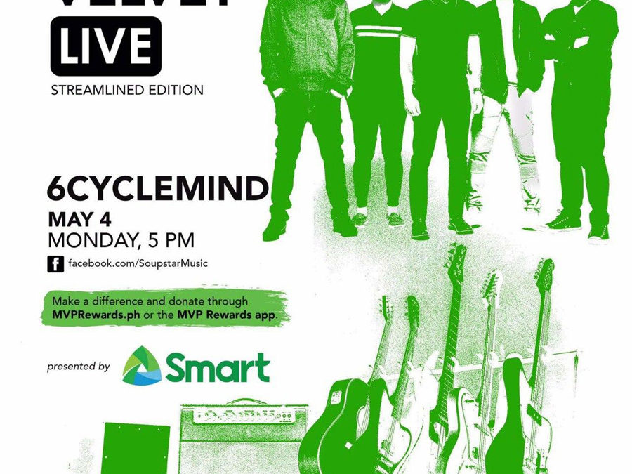Ultra Combo, 6Cyclemind and Other OPM Bands Come Together for Smart Music Live Online Sessions