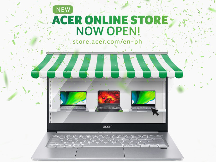 Acer Philippines Launches Online Store