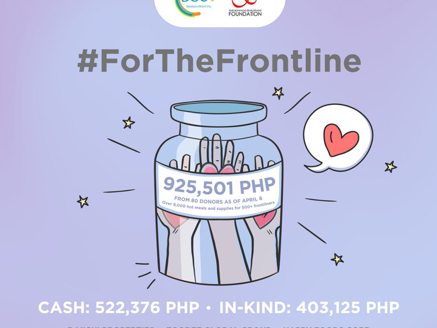 BGC Calls for Support #ForTheFrontline