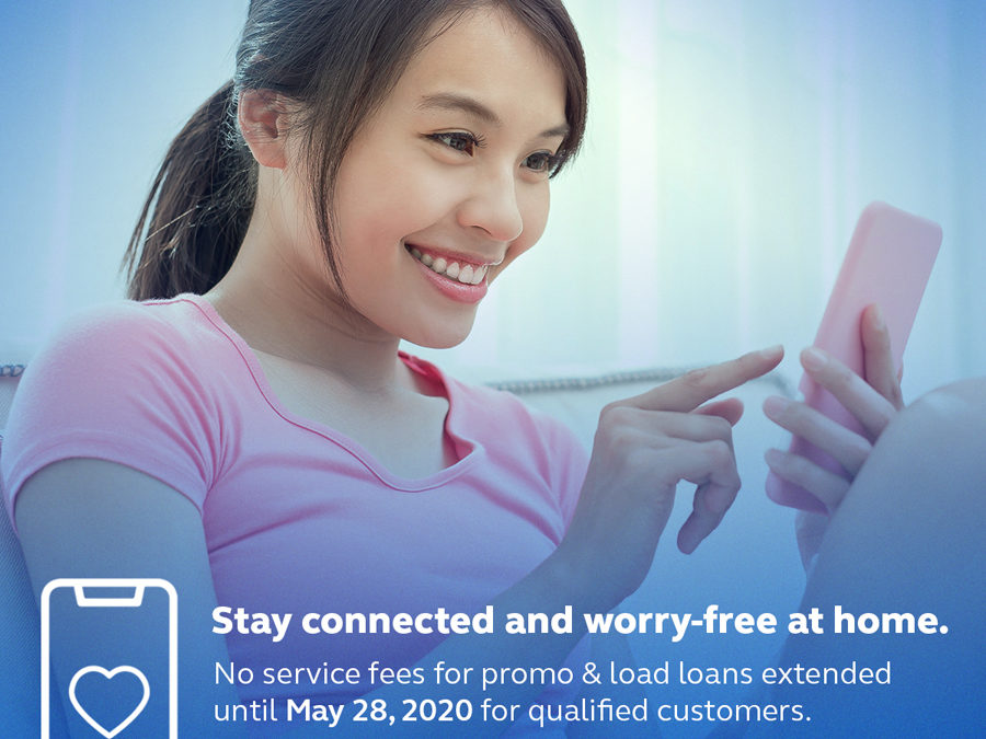 No Service Fees on Globe/TM Load and Promo Loans Extended Until May 28