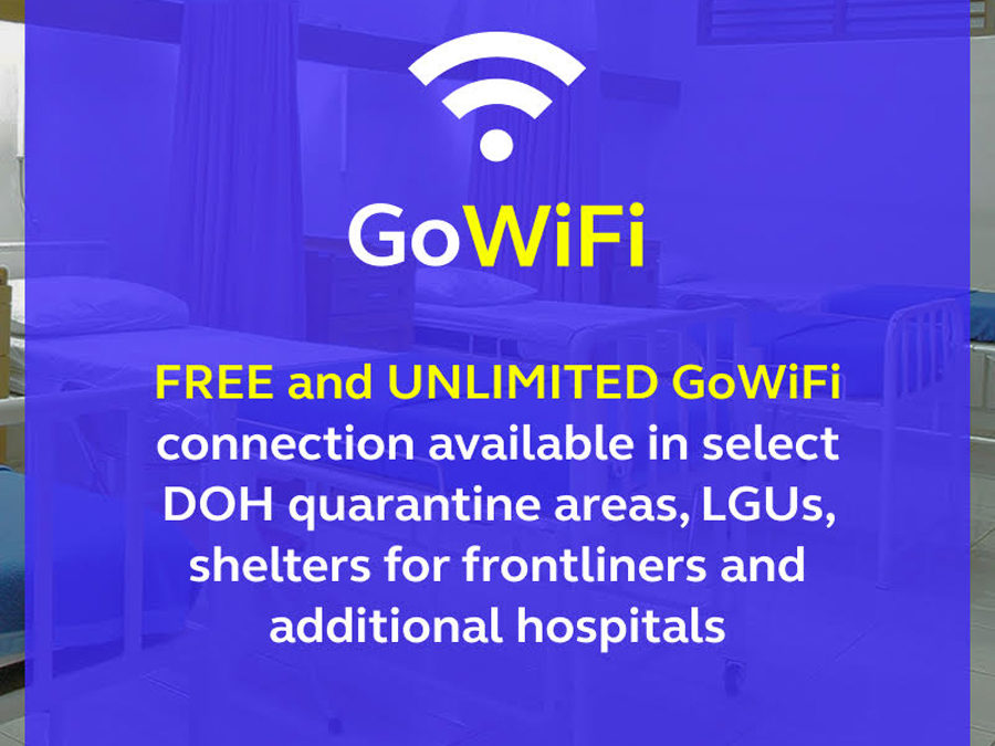 Globe Extends Free Unlimited WiFi to More LGUs and Hospitals Nationwide