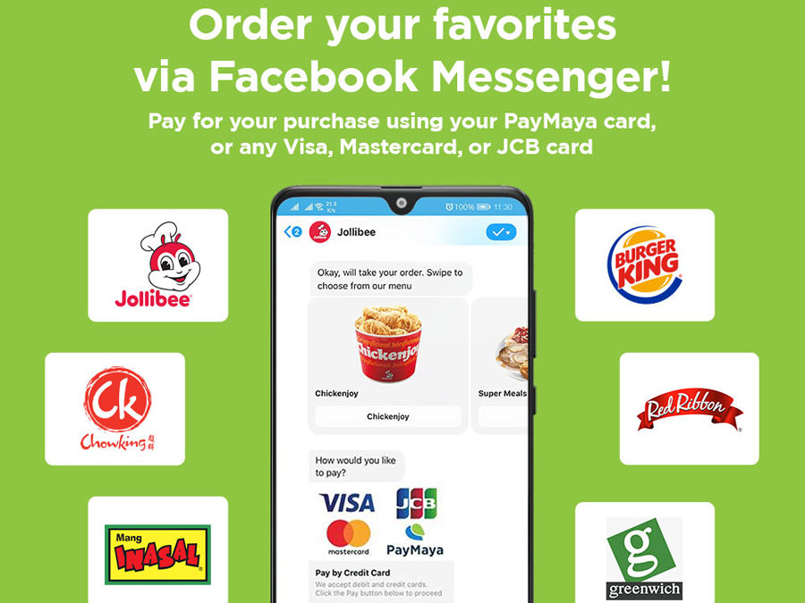 Jollibee Foods Corporation and Paymaya Pioneer Conversational Commerce With 'Cashless' Ordering Chatbot