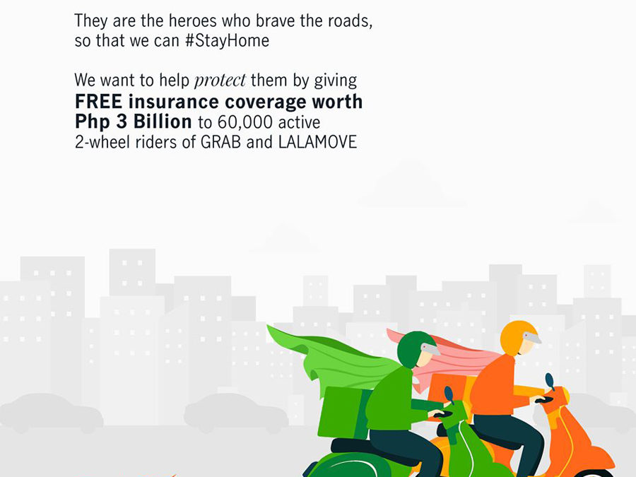 Manulife Philippines Provides Free Insurance Coverage to Delivery Riders During Community Quarantine