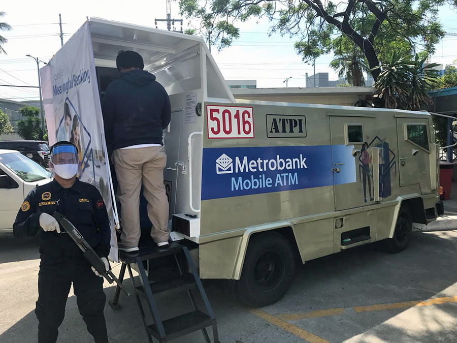 Metrobank rolls out Mobile ATMs to serve select communities during ECQ