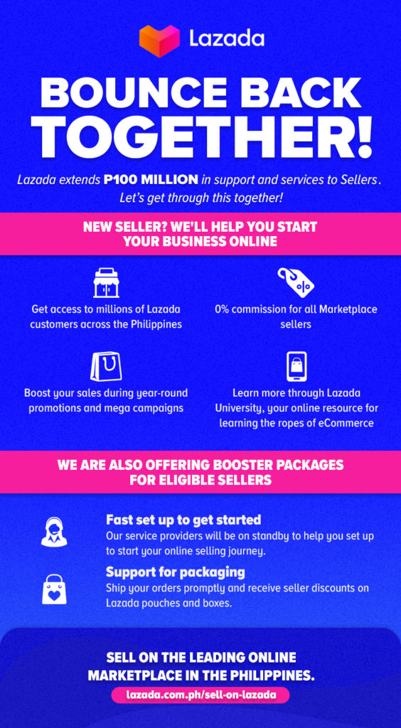 Lazada Extends P100 Million in Seller Support and Recovery Program for Filipino Entrepreneurs