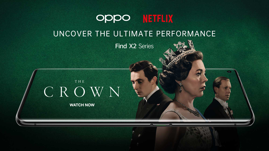OPPO Find X2 Pro Supports HDR on YouTube, Netflix, and Amazon Prime Video to Bring First-Class Viewing Experience