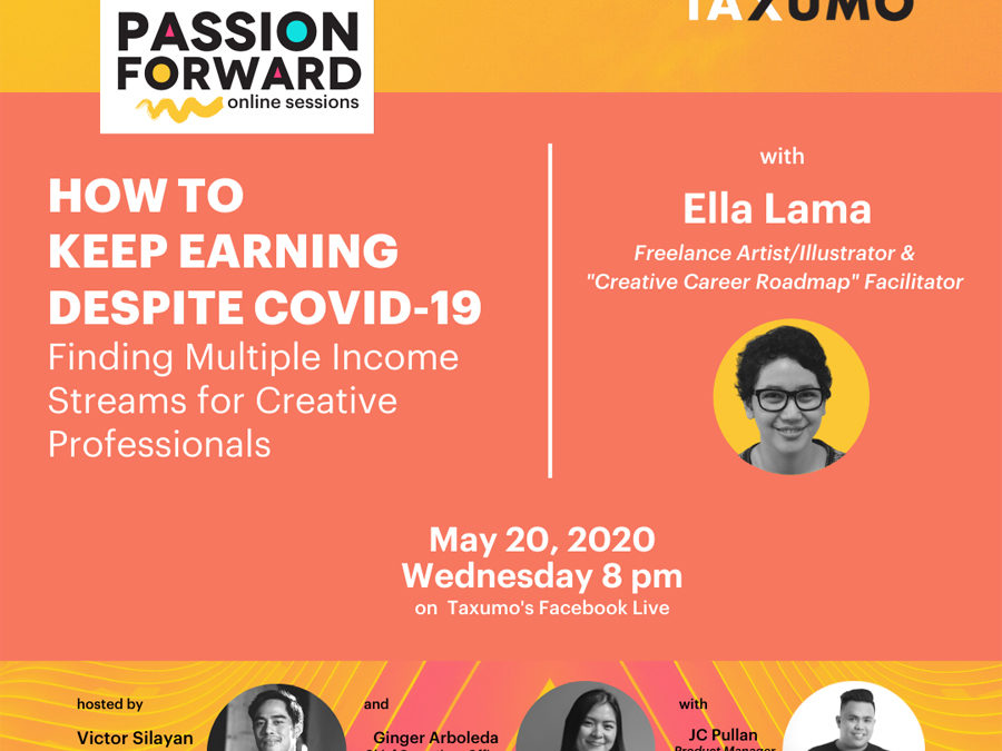 "Taxumo Launches ""Passion Forward"" Online Sessions, Will Teach Professionals & Entrepreneurs How to Stay Afloat During the ""New Normal"" Brought By COVID-19"