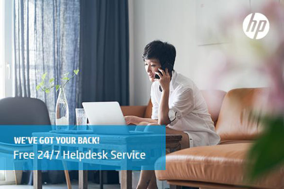 HP Introduces Free Remote Helpdesk for All Users in the Philippines to Offer Support for Those Working at Home