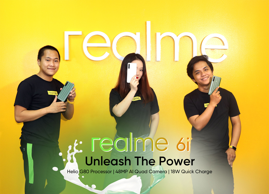 Realme PH Launches Realme 6i, the Smartphone for the Lifestyle Needs of Filipinos