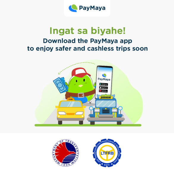 DOTR, LTFRB and PayMaya to Provide PUV Drivers With Cashless Payments, Additional Livelihood