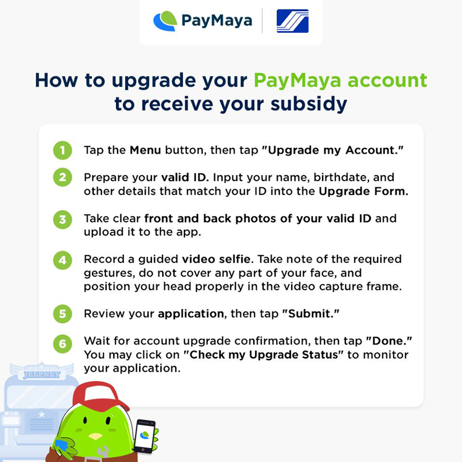 Receive Your SSS Wage Subsidies and Loan Proceeds Conveniently via PayMaya