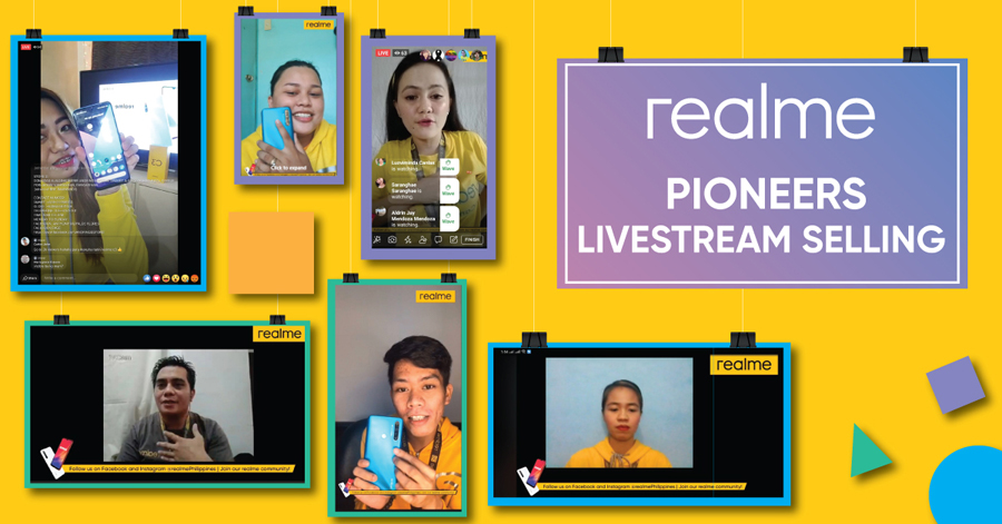 Realme Philippines Pioneers Livestream Selling for Its Employees & Fully Embraces Digital Content