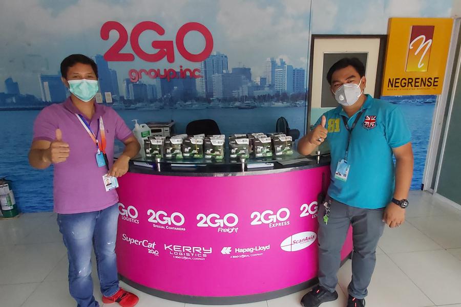 Repatriated Seafarers on 2GO Quarantine Facilities Stay in Touch via Smart