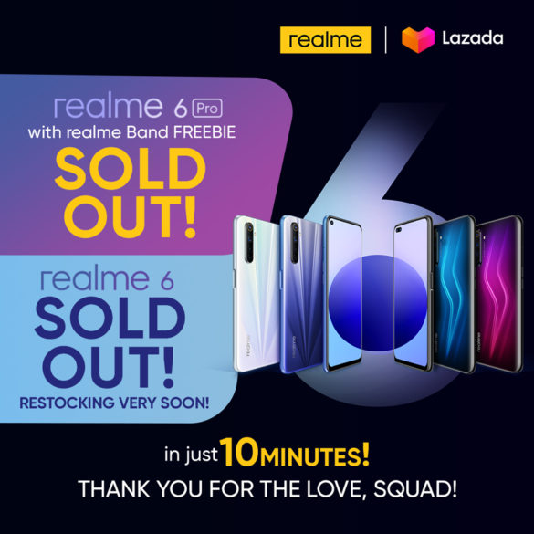 Realme Philippines Marks Another Successful Launch With Sold out Realme 6 and 6 Pro in Just 10 Minutes