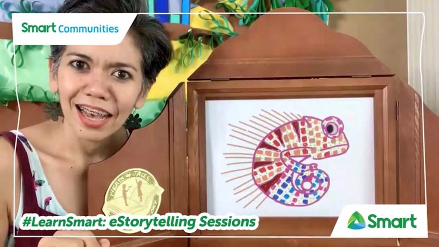 Parents and Kids Tune in to eStorytelling Sessions of DepEd, Smart for Online Learning