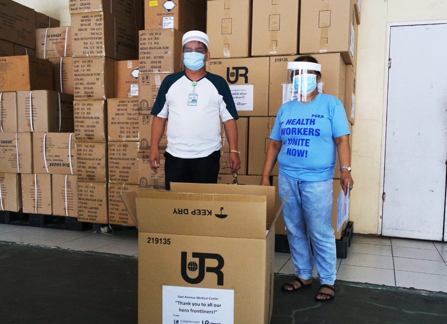 URC, GBF Design Face Shields to Help Augment Requirements of Essential Workers