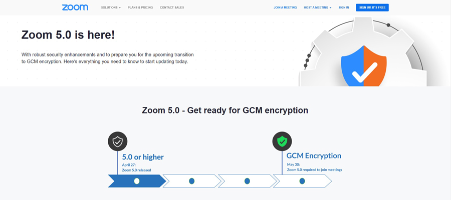 Zoom Hits Milestone on 90-Day Security Plan, Releases Zoom 5.0