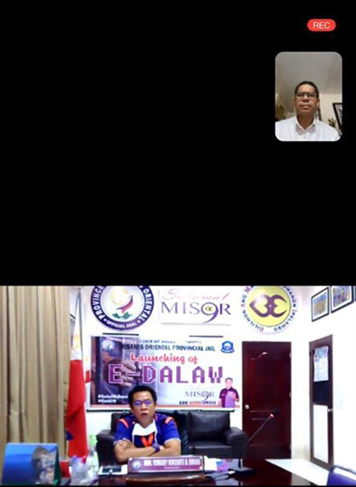 And Now, 'e-dalaw': Virtual Visits for Mis or Prisoners