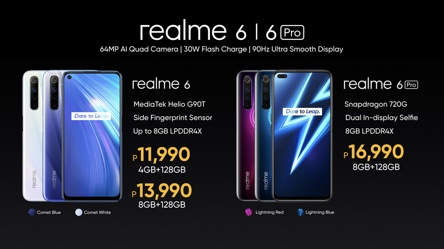 Realme 6 and 6 Pro Now Official in PH, Introducing 90Hz Smartphone Experience to More Filipinos