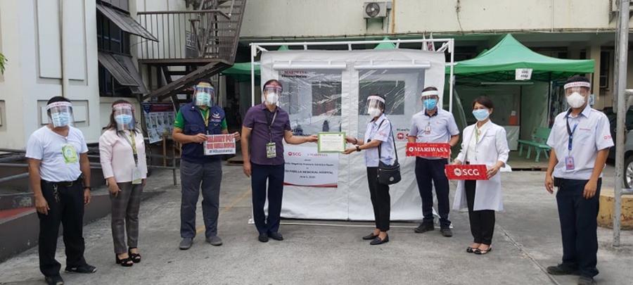 SCG Philippines Donates Negative Pressure Mobile Isolation Units to Public Hospitals