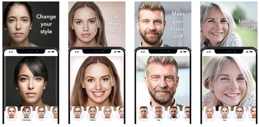 New FaceApp Challenge