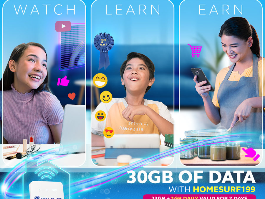 Level Up Your Digital Diskarte With a Bigger Globe at Home Prepaid WiFi HomeSURF199