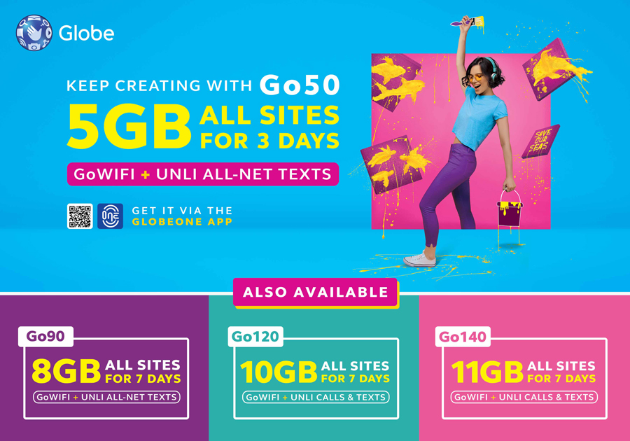 Go for More with Globe Prepaid's Newest and Biggest Promo