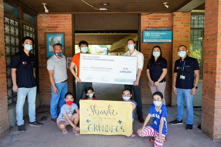 Grundfos Foundation Supports More Than 1,000 Orphaned Children and Childcare Frontline Workers in the Philippines