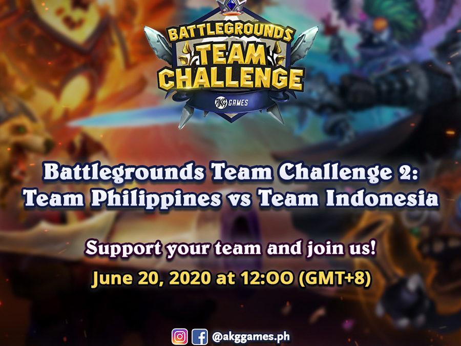 Hearthstone Battlegrounds Team Challenge 2: Team Philippines vs Team Indonesia