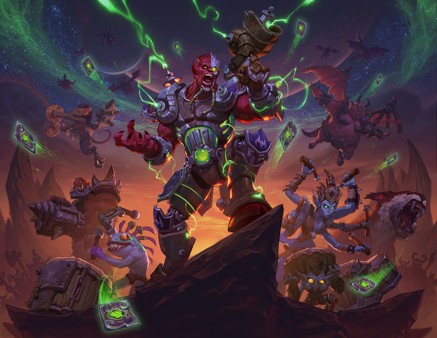 Rock on with Hearthstone's Felfire Festival – Battlegrounds, Solo Adventure and more!