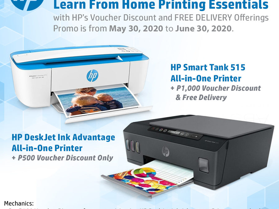 Get P500 to P1000 Discount, Free Delivery When You Buy Hp Printers at Lazada, Shopee