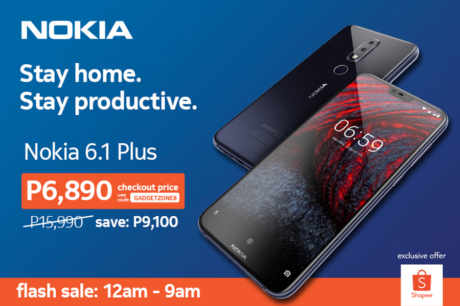 Nokia 6.1 Plus Gets Over 50% Discount at Shopee Flash Sale