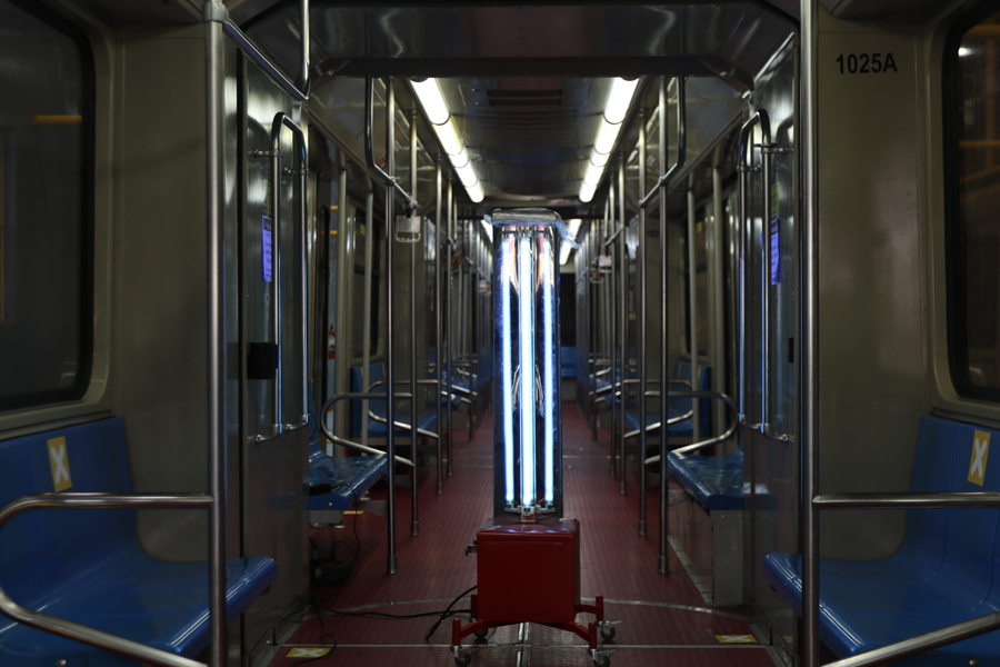 LRMC Intensifies LRT-1 Disinfection With Uv Technology, Partners With up National Engineering Center
