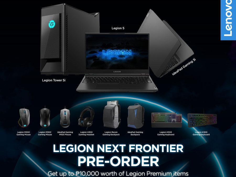 Lenovo Announces Pre-Order Exclusive Promo for New Legion Devices