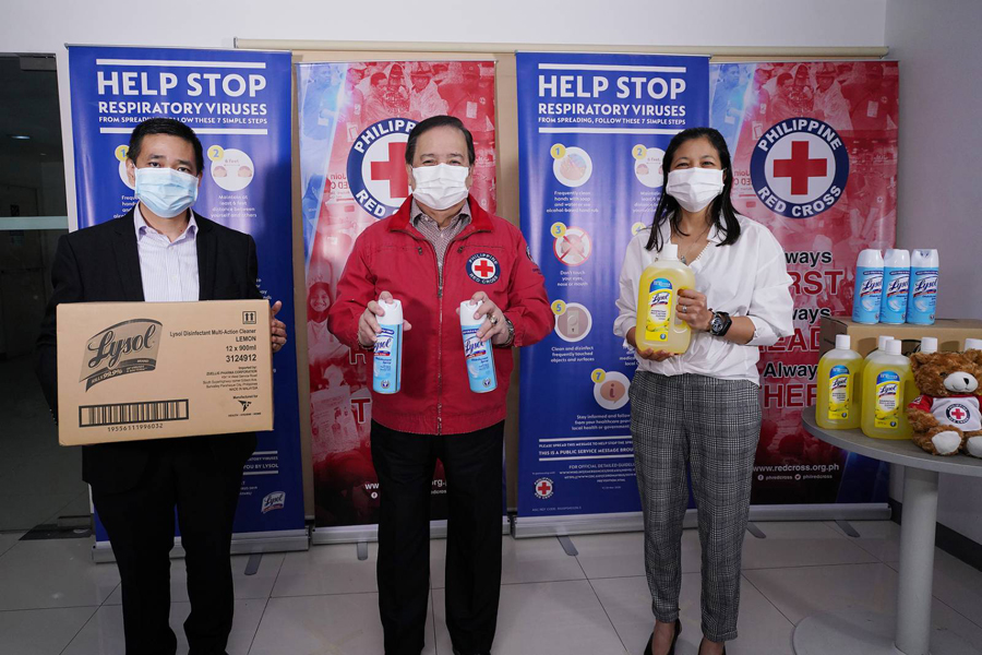 Disinfect to Protect: Lysol's P36M Funding to Help Philippine Red Cross Battle COVID-19