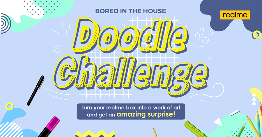 Ready, Set—Doodle: realme Philippines Invites Fans to Join #realmeDoodleChallenge!